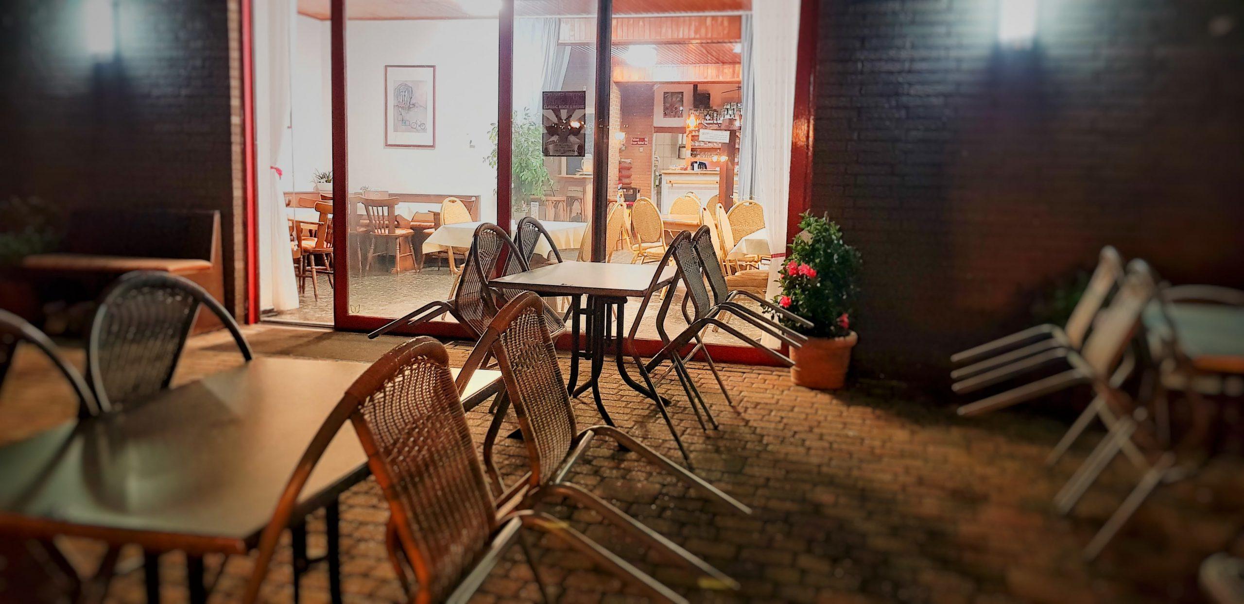 Herbst im Restaurant und Biergarten Zum Tonkrug